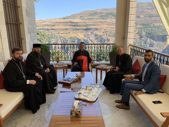 Делегація ПЦУ налагодила стосунки з Маронітською Католицькою Церквою в Лівані
