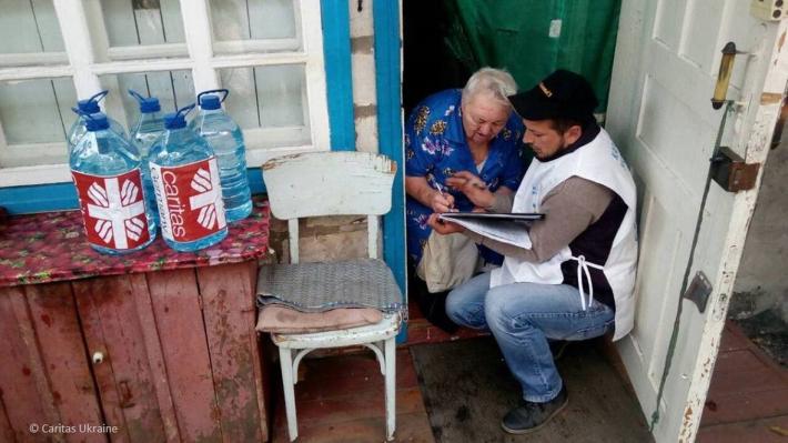 Німеччина надала через греко-католиків 3,3 млн євро допомоги людям на Донбасі