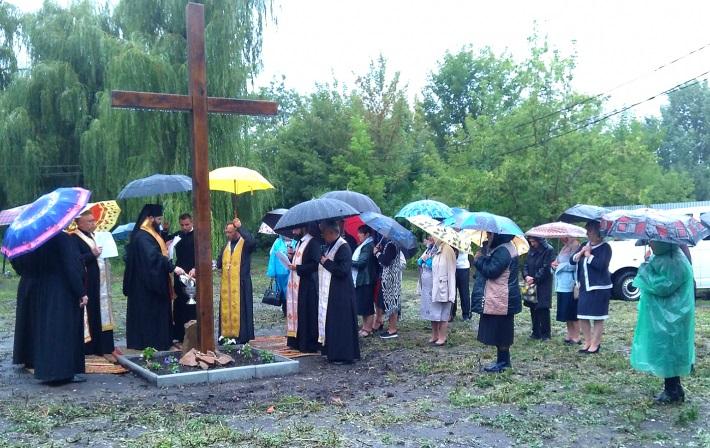 Греко-католики починають будувати храм у Слов