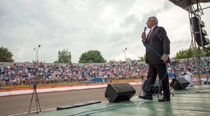 Международная миссия «Добрый самаритянин» отметила в Украине свое 30-летие