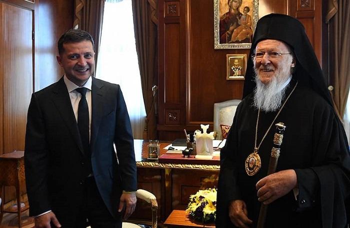 Патріарх Варфоломій — Зеленському: «Церква України є повністю незалежна і автокефальна»