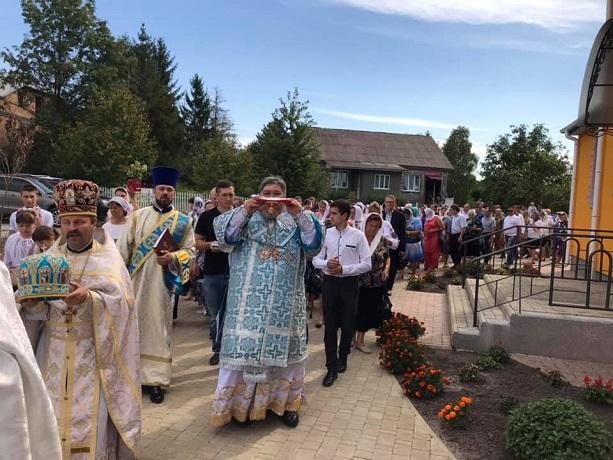 На Хмельниччині освячено новий храм ПЦУ