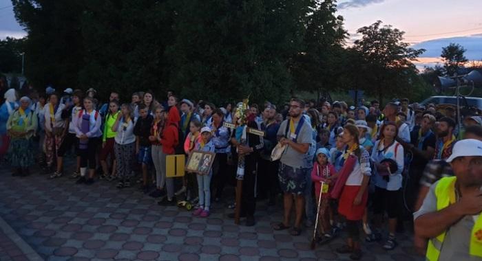 Українці-заробітчани з 16 країн звершили XIV Міжнародну пішу прощу