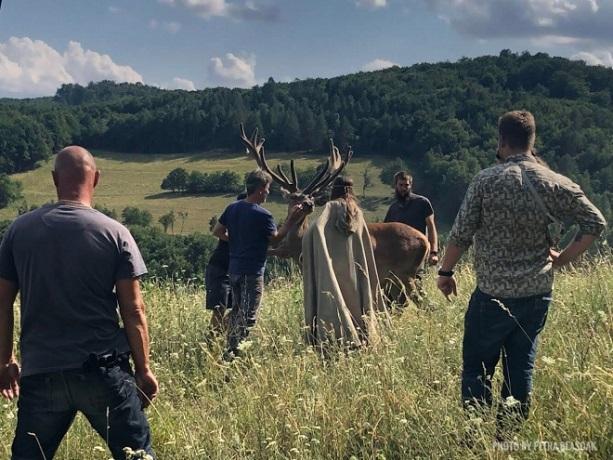 На Житомирщині знімають українсько-словацький історичний серіал на основі міфології