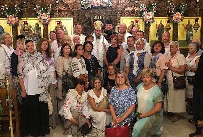 Єпископ ПЦУ очолив у Греції літургію для українців