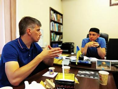 У Дніпрі мусульмани і українські націоналісти обговорюють можливі спільні проєкти