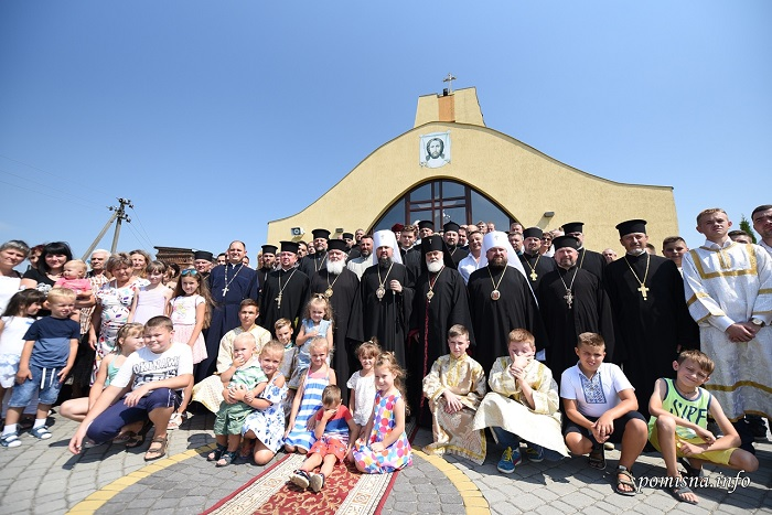 Глава ПЦУ зустрівся з трьома парафіями Самбора і мером міста