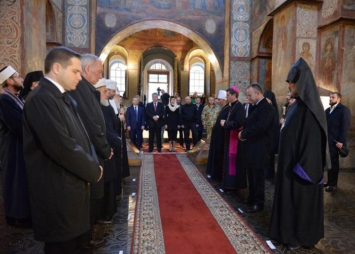 Вперше в Софії Київській не буде святкової молитви за Україну за участю очільників держави