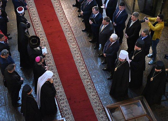 Керівники держави і УПЦ (МП) вперше проігнорували молитву за Україну в Софії Київській