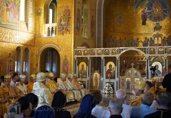 Порошенко у Римі відзначив 50-річчя освячення собору Святої Софії