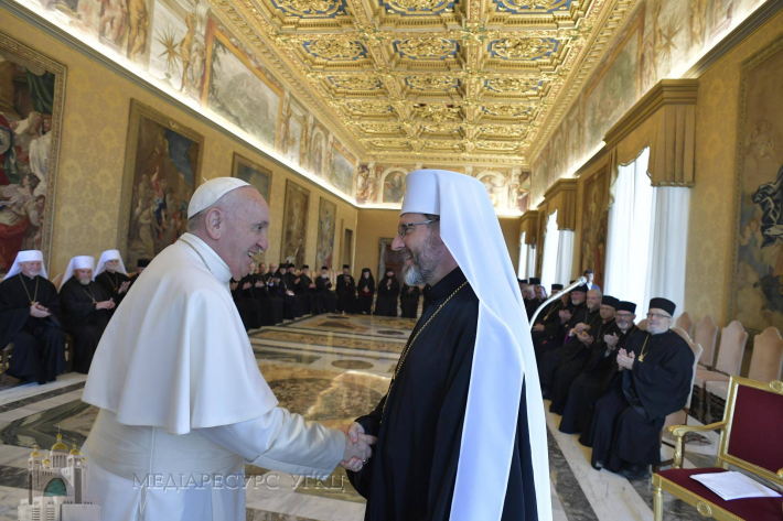 Папа Франциск нагадав УГКЦ про «покликання Церкви євангелізувати»