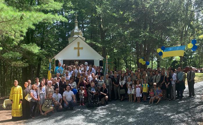 УПЦ в США звела для молоді каплицю Успіння Богородиці