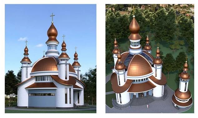 Названо переможця Всеукраїнського архітектурного конкурсу на найкращий проект храму ПЦУ в центрі Львова