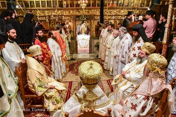 Делегація ПЦУ співслужила ієрархам трьох помісних Православних Церков