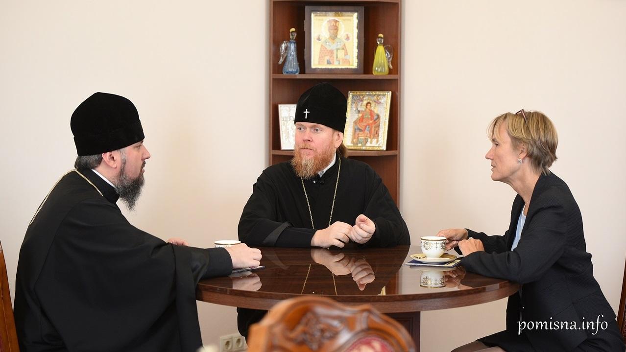 Глава ПЦУ обговорив з послом Німеччини міжконфесійну ситуацію в Україні