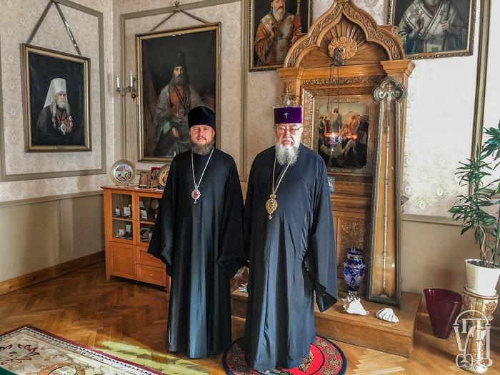 Єпископ УПЦ (МП) обговорив з главою Польської Православної Церкви «українське церковне питання»