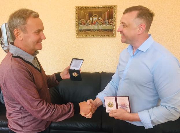 Ветерани АТО нагородили пастора з Донецька