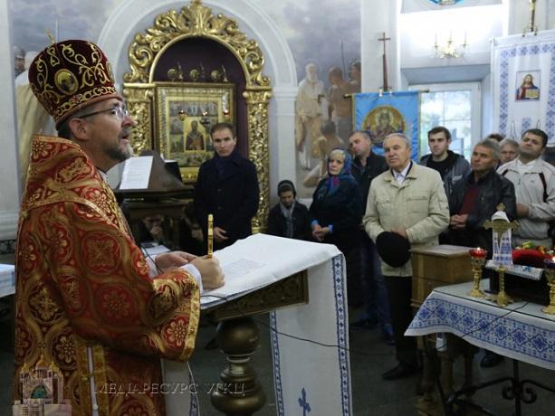 У Києві освятили військову каплицю УГКЦ