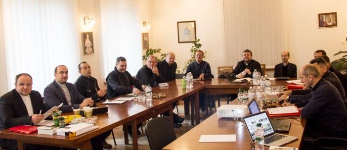 Голови єпархіальних комісій УГКЦ дискутували на тему «Київське Християнство і Софійна Цивілізація»