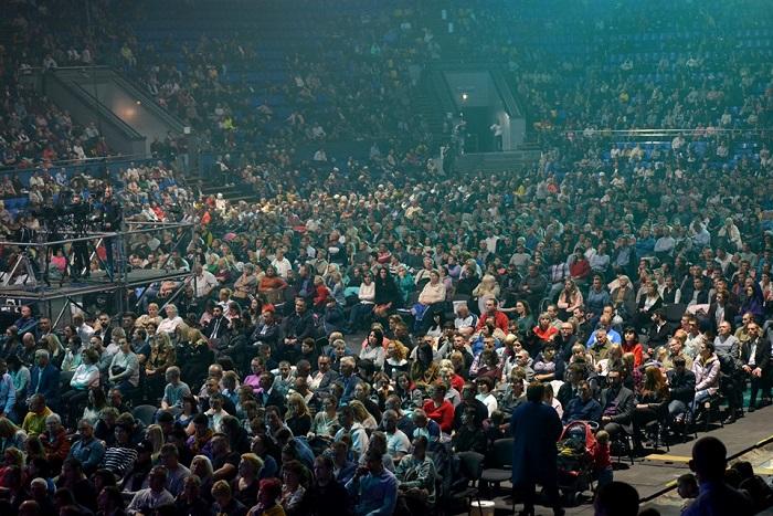Протестанты собирают тысячи участников на свои конференции в Киеве