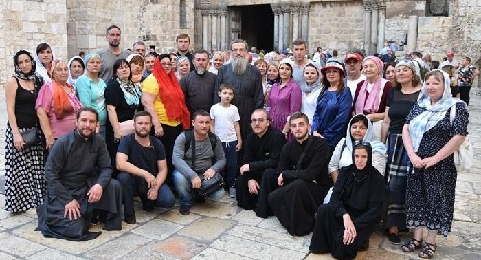 УПЦ (МП) організувала доставку 2500 вірян в Ієрусалим на зустріч з місцевим патріархом і святинями