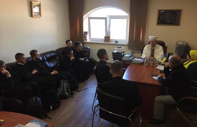 Семінаристи УГКЦ відвідали ісламський культурний центр у Києві