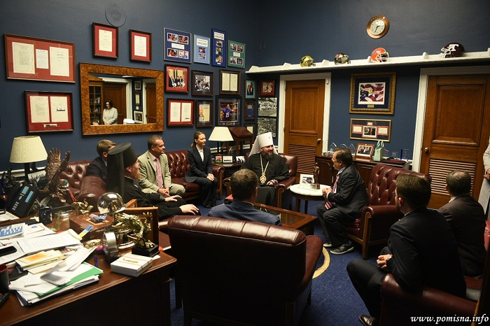 Глава ПЦУ зустрічається у США з державними і громадськими діячами