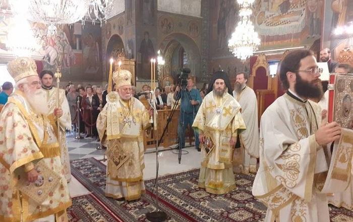 Глава Естонської Церкви і єпископ ПЦУ провели спільну літургію