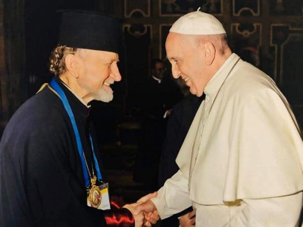 Військові капелани України зустрілися з папою Франциском у Ватикані
