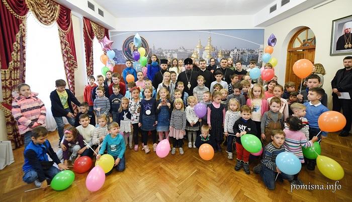 При Михайлівському Золотоверхому монастирі відкрилася недільна школа для дітей з вадами слуху