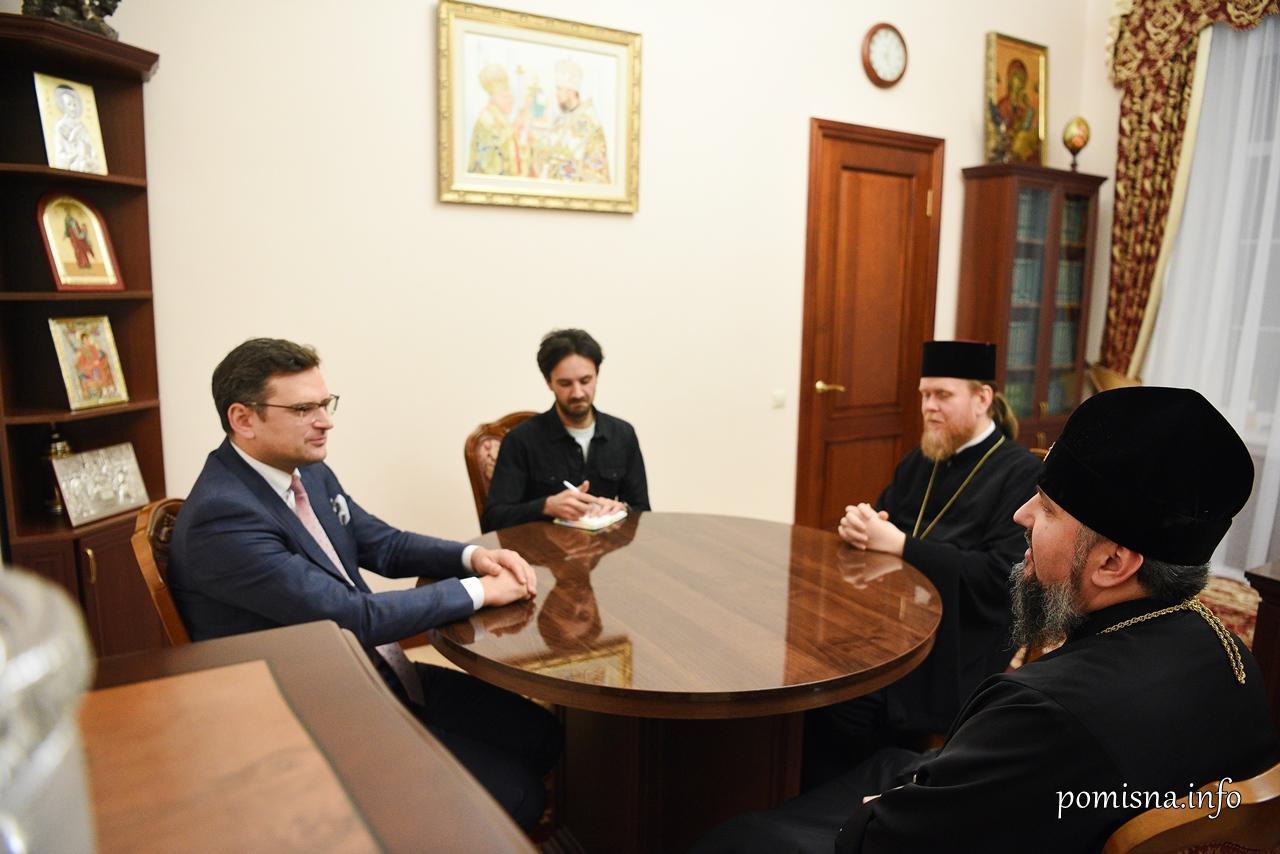 Митрополит Епіфаній обговорив з віце-прем'єр-міністром співпрацю у просвітницьких проектах