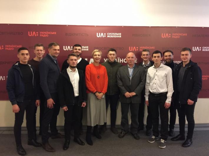 Семінаристи УГКЦ відвідали з екскурсією Національну суспільну телерадіокомпанію України