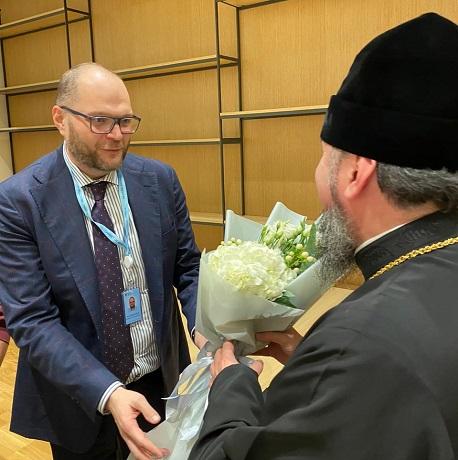 Глава ПЦУ і члени Офісу з розробки гуманітарної політики України обговорили питання міжконфесійних відносин і миротворчості