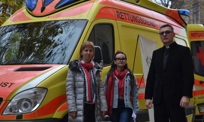 У шпиталі Шептицького презентували проєкт для дітей з невиліковними хворобами