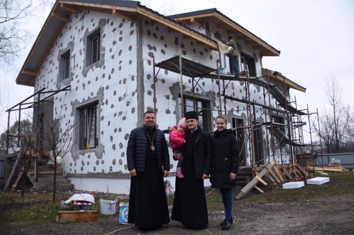 На Буковині зводять чотири парафіяльні будинки УГКЦ