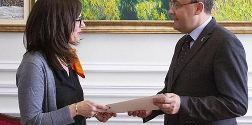 Донька священника УГКЦ стала послом Канади в Україні