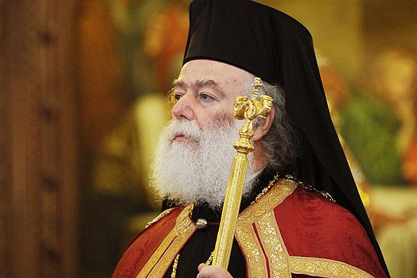 Патріарх Феодор закріпив офіційні відносини між Олександрійською та Українською Церквами