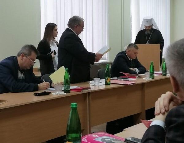 Митрополит ПЦУ захистив кандидатську з історичних наук