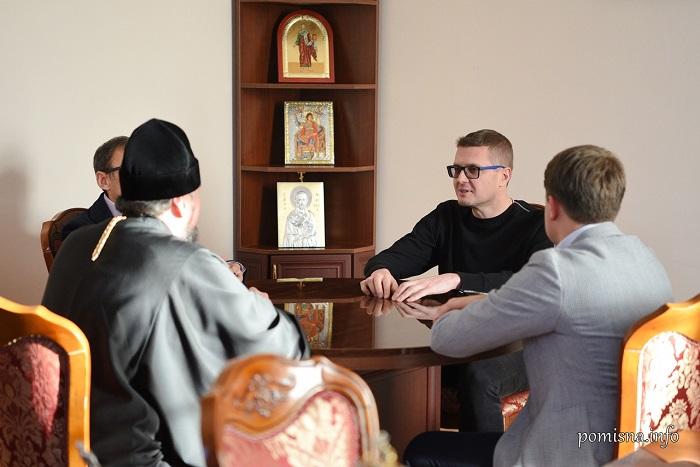 Предстоятель ПЦУ і голова СБУ обговорили міжконфесійні відносини в Україні
