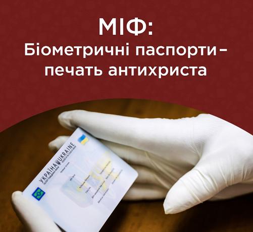 ПЦУ та УПЦ (МП) по-різному ставляться до біометричних документів