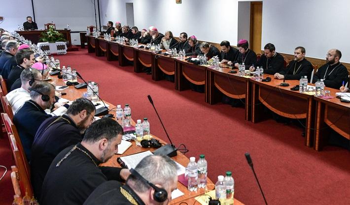 Єпископи УГКЦ та РКЦ в Україні відбули щорічну братню зустріч
