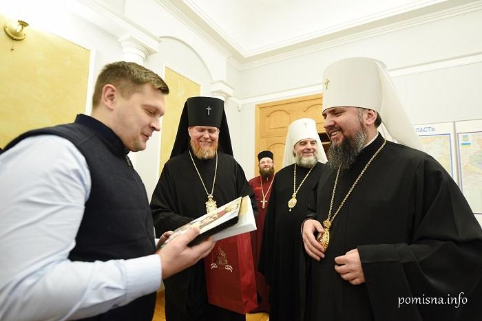 Глава ПЦУ обговорив з очільником Чернігівської ОДА спільні ініціативи