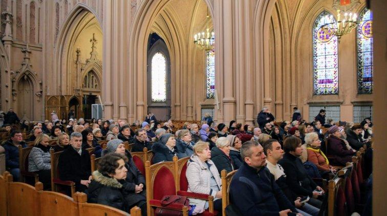 Католики столиці відзначили 110-ліття Миколаївського костелу