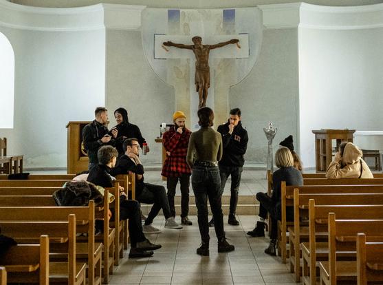 Виставу, яку не дозволили провести в кірсі Києва, показують в Національному художньому музеї України