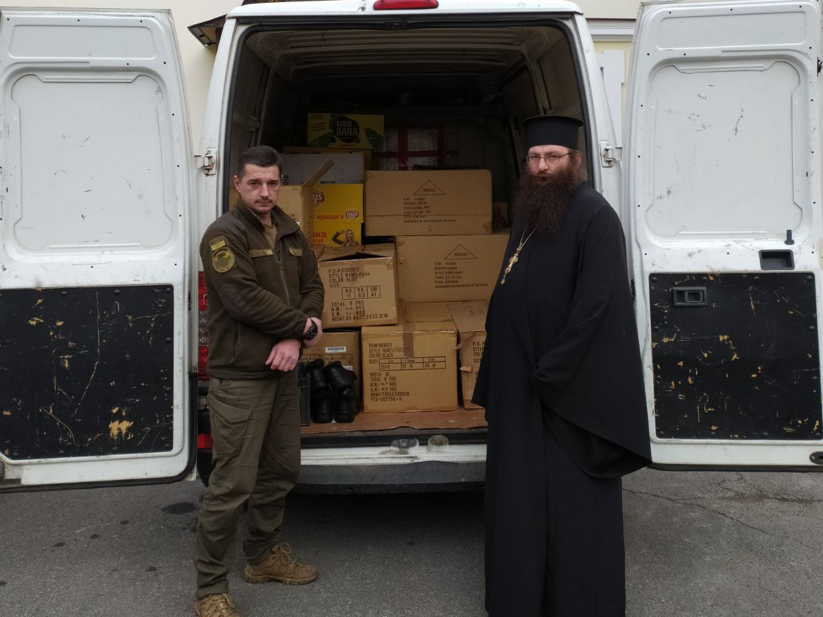 З ПЦУ передали гуманітарну допомогу у зону проведення ООС