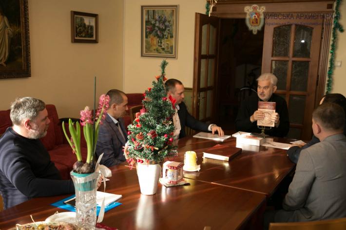 Єпископ УГКЦ благословив українських адвокатів