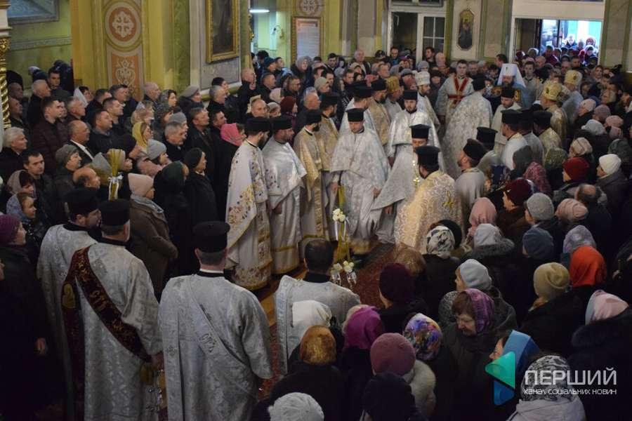 В Луцькому кафедральному соборі ПЦУ різдвяні служіння відбуваються 25 грудня і 7 січня