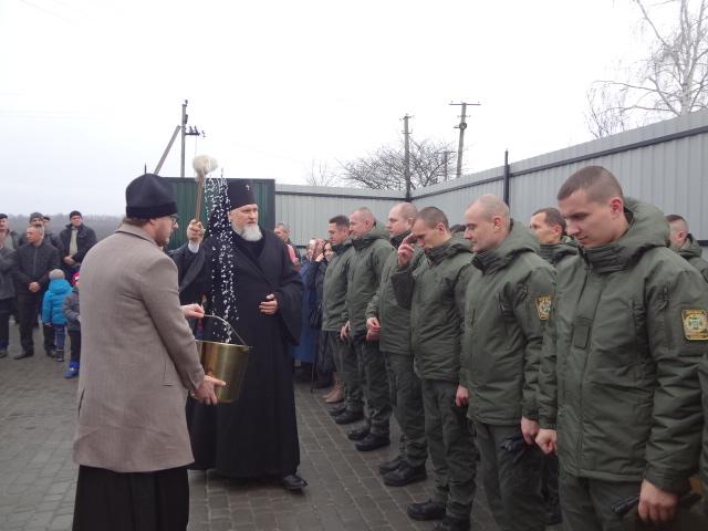 Архієпископ ПЦУ благословив відкриття відділення інспекторів прикордонної служби «Михайлівка»
