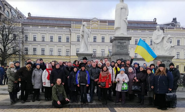 Релігійні діячі та капелани України благословили Україну перед нормандською зустріччю