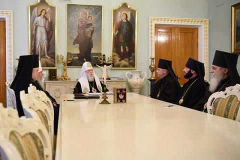 Філарет призначає нових єпископів, ПЦУ вважає це «нікчемним»